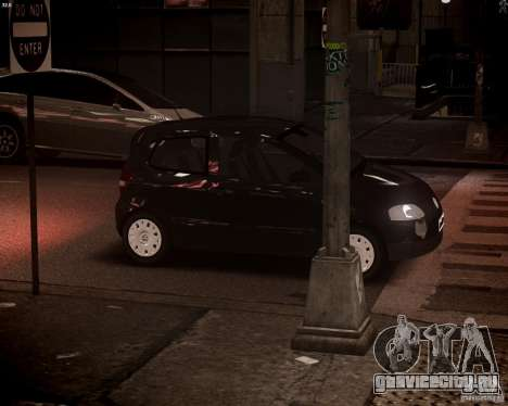 Volkswagen Fox 2011 для GTA 4 вид сверху