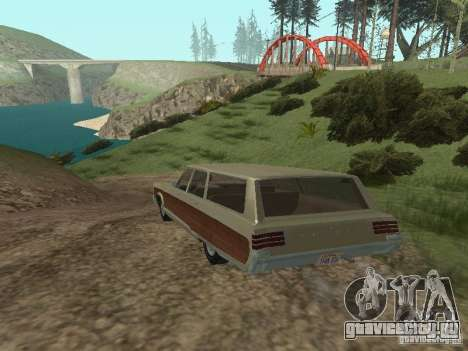 Chrysler Town and Country 1967 для GTA San Andreas вид справа