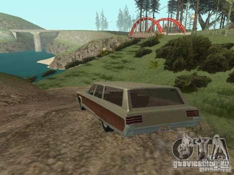Chrysler Town and Country 1967 для GTA San Andreas вид справа