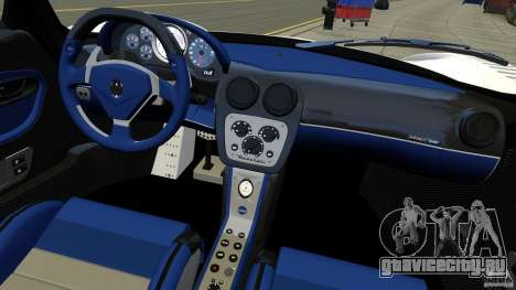 Maserati MC12 для GTA 4 вид сзади