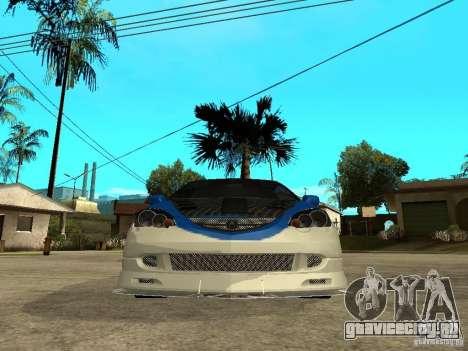 Acura RSX Shark Speed для GTA San Andreas вид справа