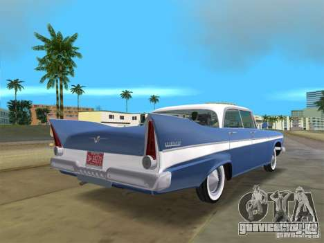 Plymouth Belvedere 1957 sport sedan для GTA Vice City вид слева