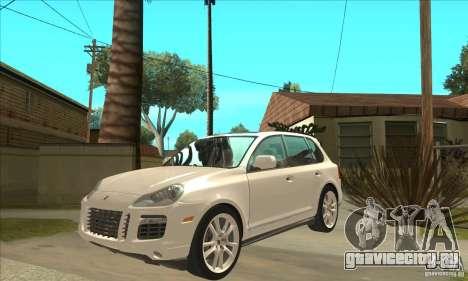 Porsche Cayenne Turbo S 2009 для GTA San Andreas