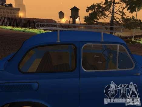 ЗАЗ 965М для GTA San Andreas вид сверху
