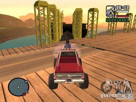 Monster tracks v1.0 для GTA San Andreas девятый скриншот