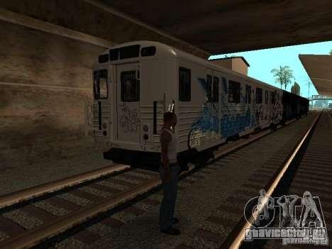 Поезд из GTA IV для GTA San Andreas