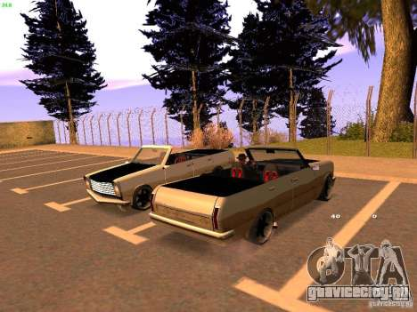 New Perennial для GTA San Andreas вид сзади слева