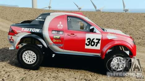 Mitsubishi L200 Triton для GTA 4 вид слева