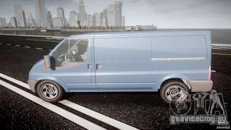 Ford Transit 2009 для GTA 4 вид слева