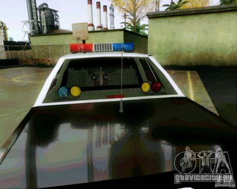 Ford Crown Victoria LTD 1991 SFPD для GTA San Andreas вид сбоку