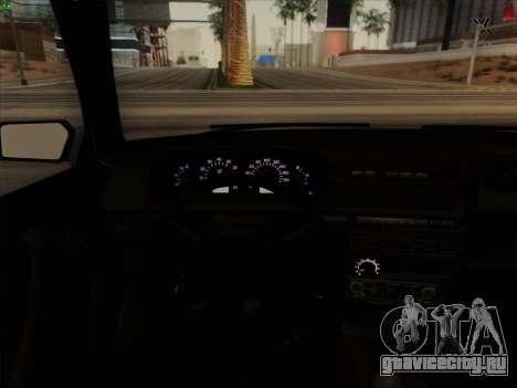 ВАЗ 21099 Сток для GTA San Andreas вид сбоку