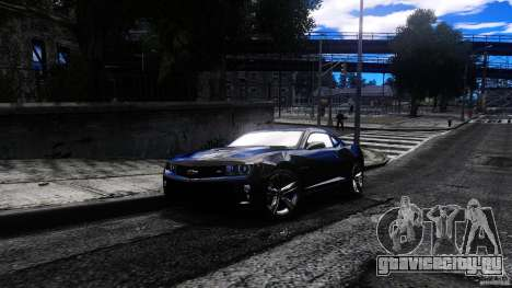 Chevrolet Camaro ZL1 для GTA 4