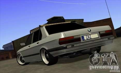 BMW E28 525е RatStyle Nr1 для GTA San Andreas вид слева