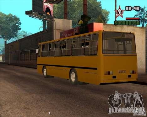 Ikarus 260.04 для GTA San Andreas вид слева