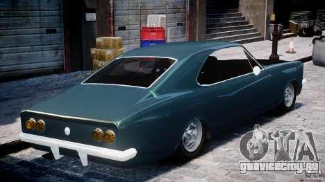 Chevrolet Opala 1979 v1.0 [BETA] для GTA 4 вид изнутри