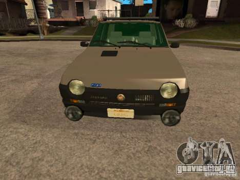 Fiat Ritmo для GTA San Andreas вид сверху