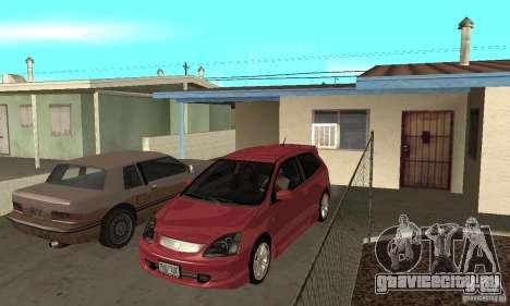 Honda Civic Type R - Stock + Airbags для GTA San Andreas