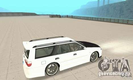 Nissan Stagea GTR для GTA San Andreas вид сбоку
