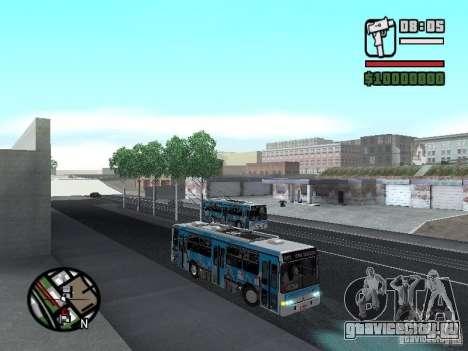 Marcopolo Torino GV Trolebus для GTA San Andreas вид сзади