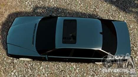 BMW 750iL E38 Light Tuning для GTA 4 вид справа