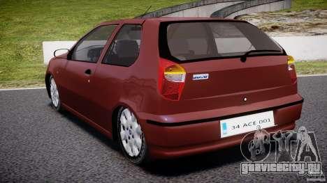 Fiat Palio 1.6 для GTA 4 вид сзади слева