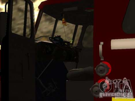 Урал 43206 АЦ 3.0-40 (6x6) для GTA San Andreas вид сбоку