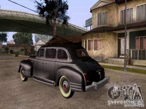 ЗиС 110 для GTA San Andreas вид слева