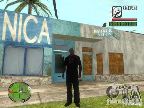 Футболка I Love My IV для GTA San Andreas второй скриншот