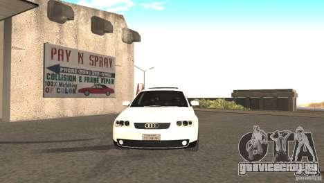 Audi A3 1.8T 180cv для GTA San Andreas вид слева