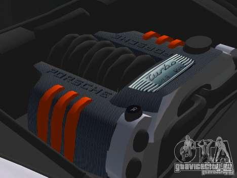 Porsche Cayenne Turbo S для GTA Vice City вид сверху