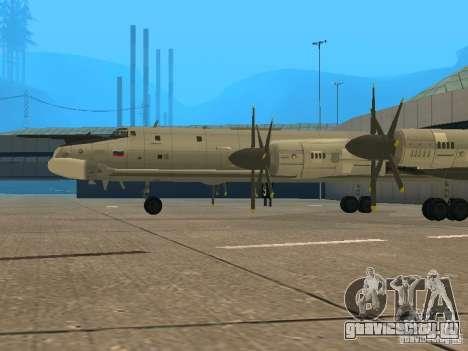 Ту-95 для GTA San Andreas вид справа