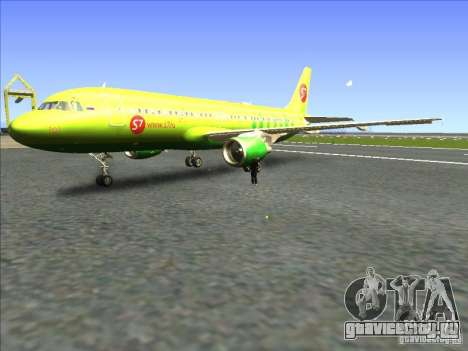 Airbus A-320 S7Airlines для GTA San Andreas
