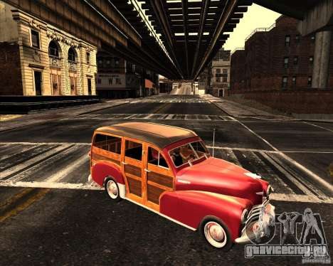 Chevrolet Fleetmaster 1948 для GTA San Andreas вид слева