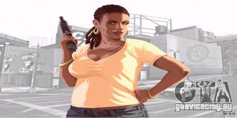Экраны загрузки из GTA IV v.2.0 для GTA San Andreas второй скриншот