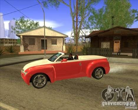 Chevrolet SSR для GTA San Andreas вид слева