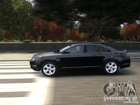 Ford Taurus FBI 2012 для GTA 4 вид слева