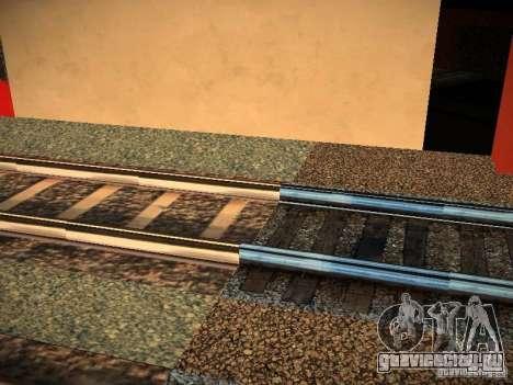 Новые рельсы для GTA San Andreas третий скриншот