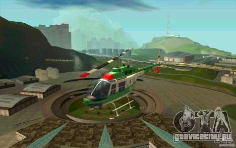 Bell 206 B Police texture3 для GTA San Andreas