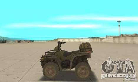 Новый Квадроцикл для GTA San Andreas вид слева