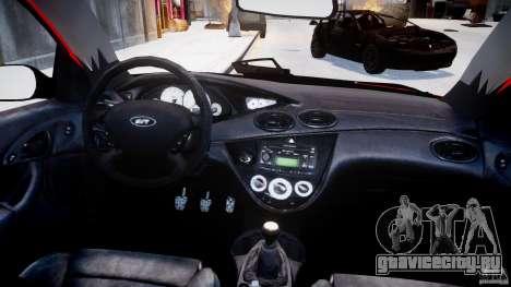 Ford Focus SVT WRC Street для GTA 4 вид сверху