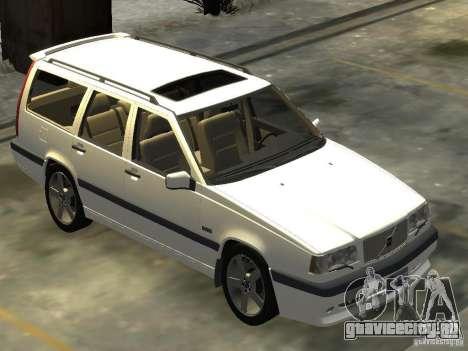 Volvo 850 R 1996 Rims 2 для GTA 4 вид справа
