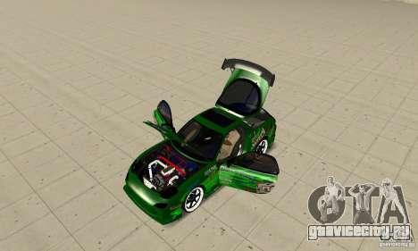 Mazda RX-7 ings для GTA San Andreas вид справа