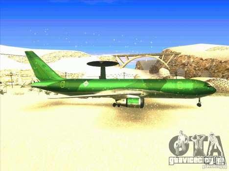 Boeing E-767 для GTA San Andreas вид справа