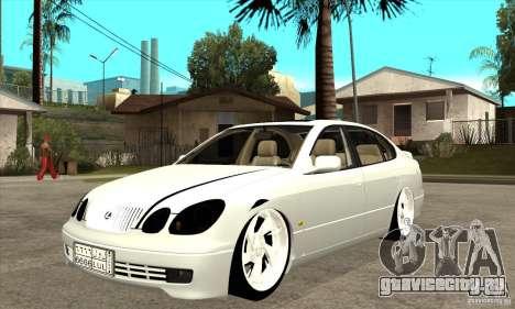 Lexus GS300 V 2003 для GTA San Andreas вид слева