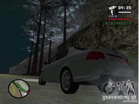 Winter Mod для GTA San Andreas второй скриншот