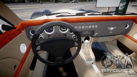 Morgan Aero SS v1.0 для GTA 4 вид сзади