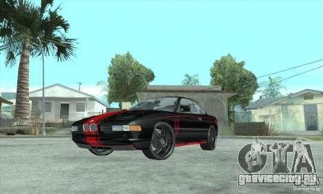 BMW 850i для GTA San Andreas вид сбоку