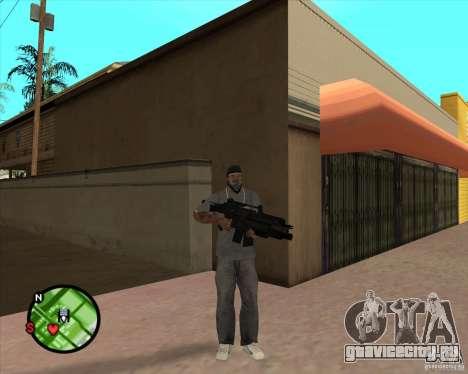 Автомат Росса для GTA San Andreas второй скриншот