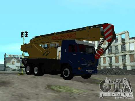 КамАЗ 65117 Ивановец для GTA San Andreas вид справа