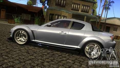 Mazda RX-8 для GTA San Andreas вид слева